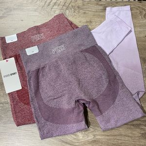 🆕(S) VS PINK Seamless Legging Bundle
